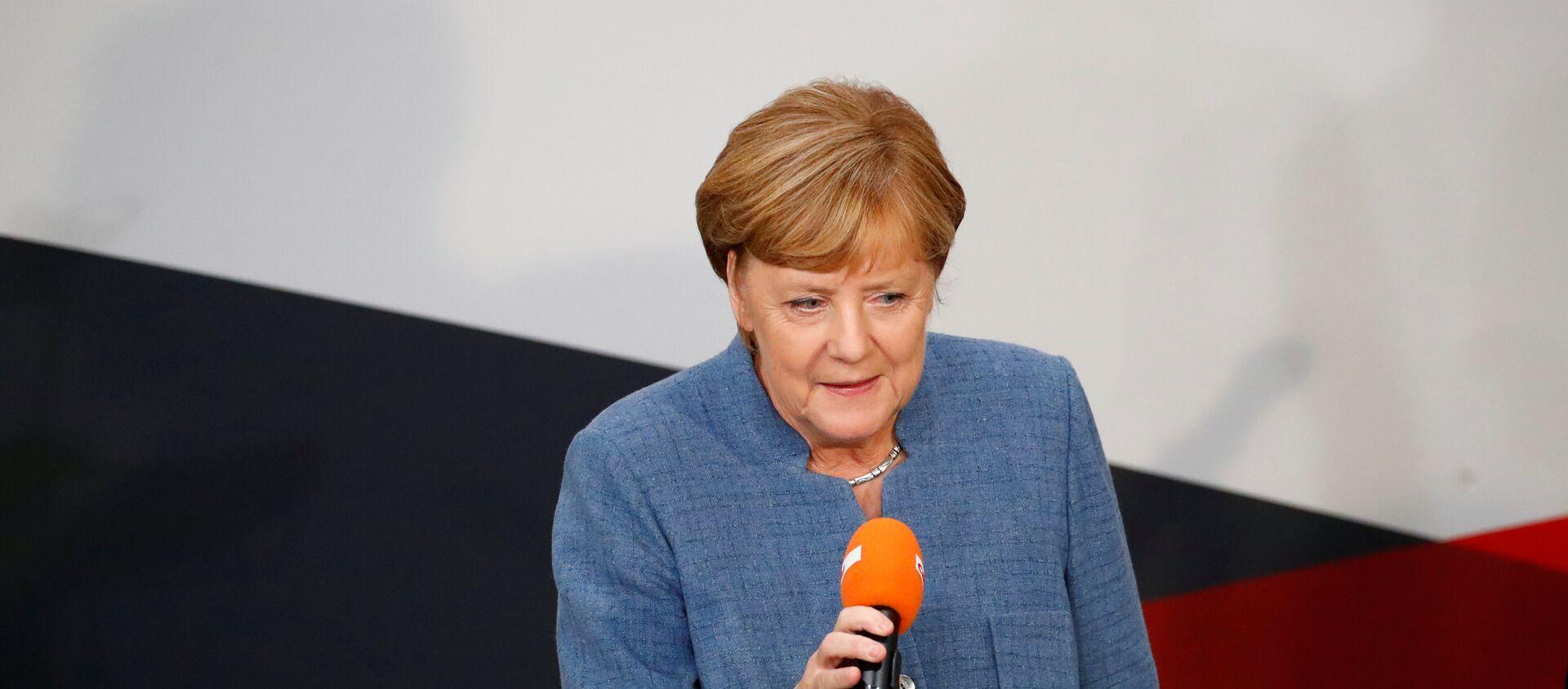 Канцлер Германии Ангела Меркель - Sputnik Грузия, 1920, 25.09.2017