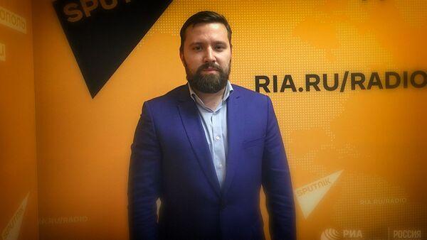 Политолог, директор Института стратегических исследований и прогнозов РУДН Дмитрий Егорченков - Sputnik Грузия