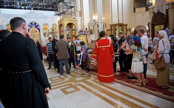 Мощи царицы Кетеван, причисленной Грузинской православной церковью к лику Святых, были доставлены в Грузию из Индии на шесть месяцев - Sputnik Грузия