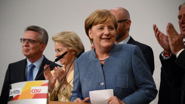 Канцлер Германии, лидер Христианско-демократического союза Ангела Меркель - Sputnik Грузия