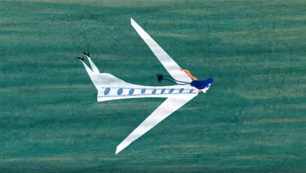 Кадр из мультфильма Моя мама - самолет - Sputnik საქართველო