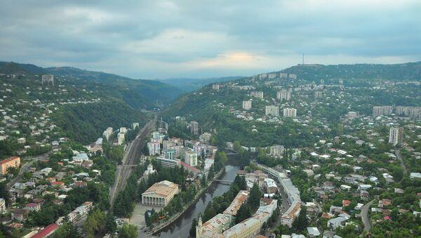 Город Чиатура в Имерети - Sputnik Грузия