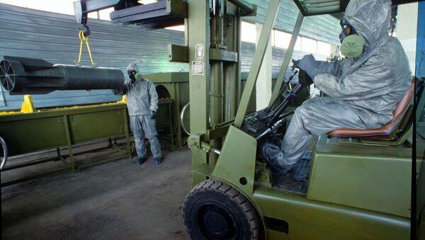 Подготовка к демонстрации технологии уничтожения химического оружия - Sputnik Грузия