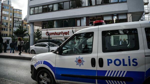 Полиция в Турции. Архивное фото - Sputnik Грузия