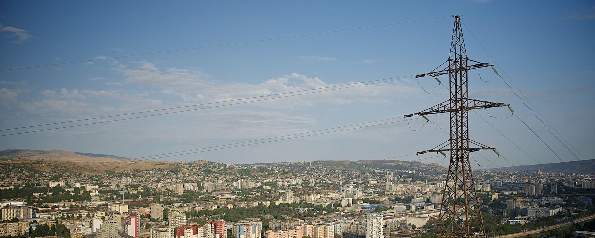 ЛЭП в центре грузинской столицы - Sputnik Грузия, 1920, 27.09.2019