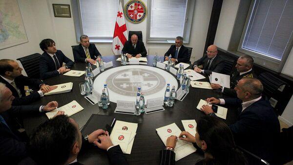 Заседание Совета национальной безопасности Грузии - Sputnik Грузия