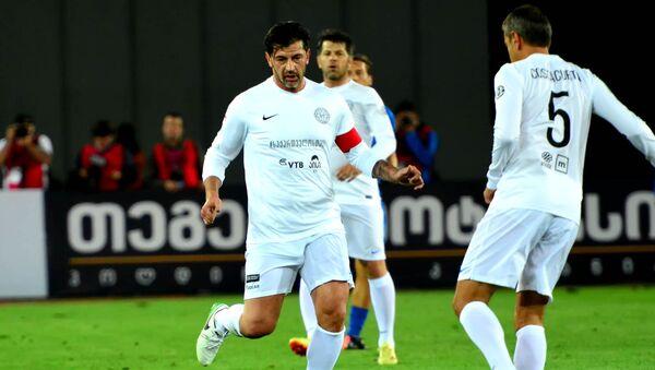 Каха Каладзе в матче звезд мирового футбола - Sputnik Грузия