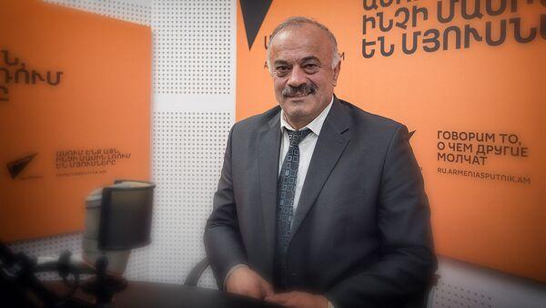 Седрак Мамулян в гостях у радио Sputnik Армения - Sputnik Грузия