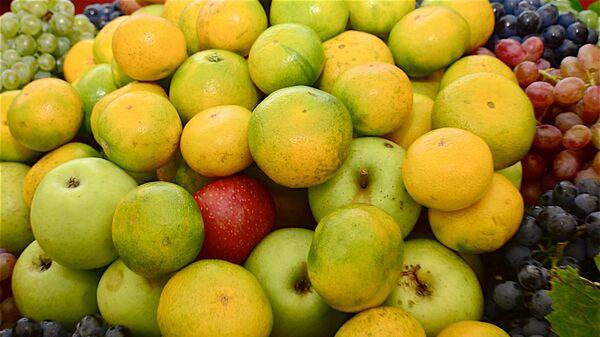 Мандарины, лимоны и фрукты на сельскохозяйственной выставке в Аджарии - Sputnik Грузия