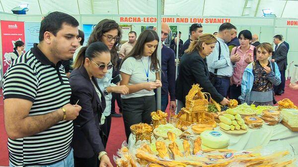Цитрусовый рай: в Аджарии прошла международная агровыставка - Sputnik Грузия