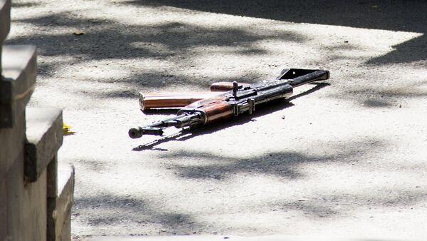 იარაღი სროლის ადგილას - Sputnik საქართველო