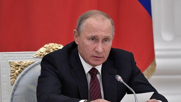 რუსეთის პრეზიდენტი ვლადიმირ პუტინი - Sputnik საქართველო