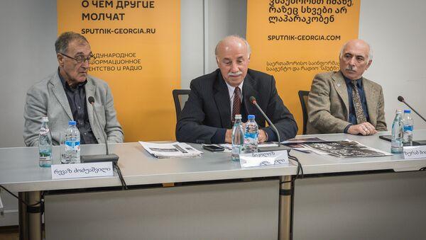 Пресс-конференция инициаторов проведения в Тбилиси турнира молодежных сборных - Sputnik Грузия