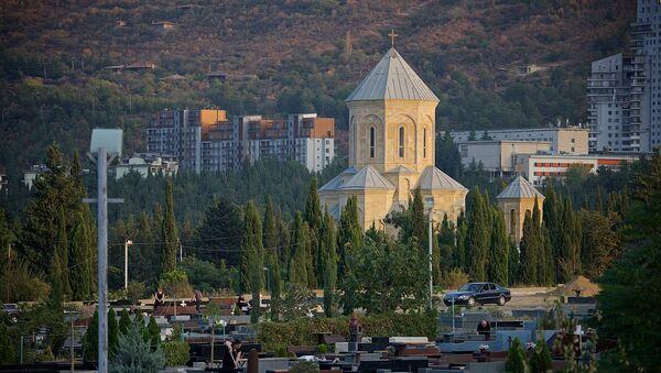 Сабурталинское кладбище в грузинской столице - Sputnik Грузия