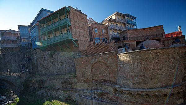 ძველი სახლები აბანოთუბანში - Sputnik საქართველო