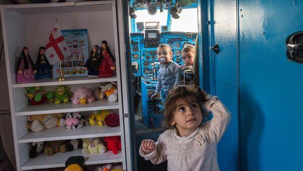 თვითმფრინავში გახსნილი საბავშვო ბაღი რუსთავში - Sputnik საქართველო