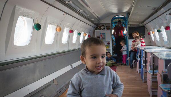 Детский сад в самолете в Рустави - Sputnik Грузия
