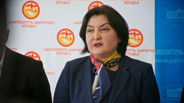Депутат от Альянса патриотов Грузии Ада Маршания - Sputnik Грузия