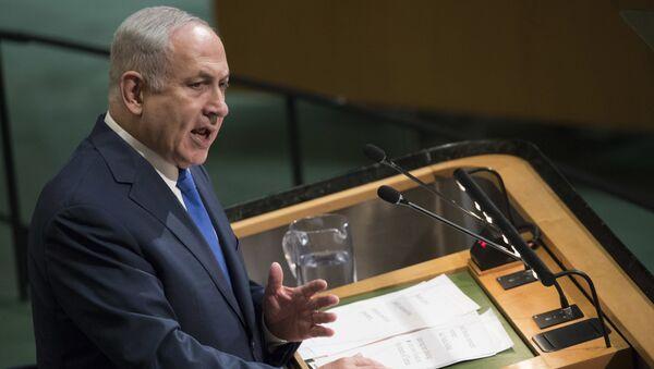 Премьер-министр Израиля Беньямин Нетаньяху - Sputnik Грузия