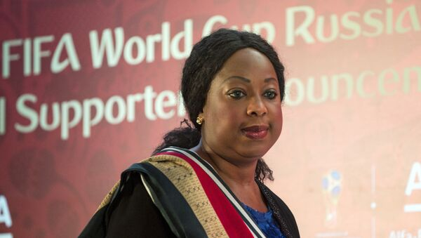 Генеральный секретарь FIFA Фатма Самура - Sputnik Грузия