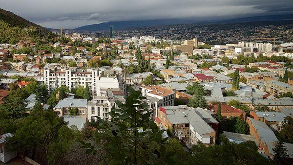 Вид на город Тбилиси днем в октябре - Sputnik Грузия