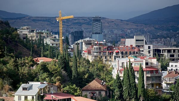 Строительство новых жилых домов в грузинской столице - Sputnik Грузия