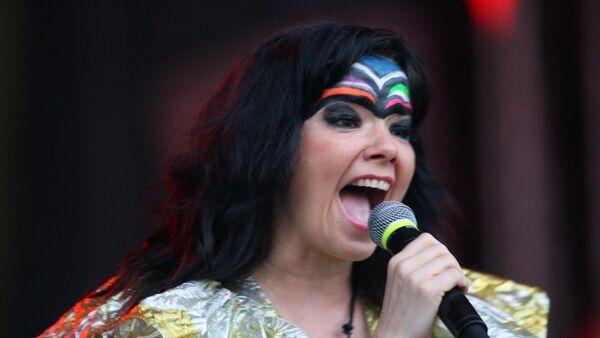 Исландская певица Бьорк - Sputnik Грузия