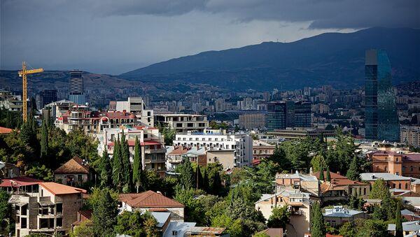 Тучи над городом Тбилиси - Sputnik Грузия