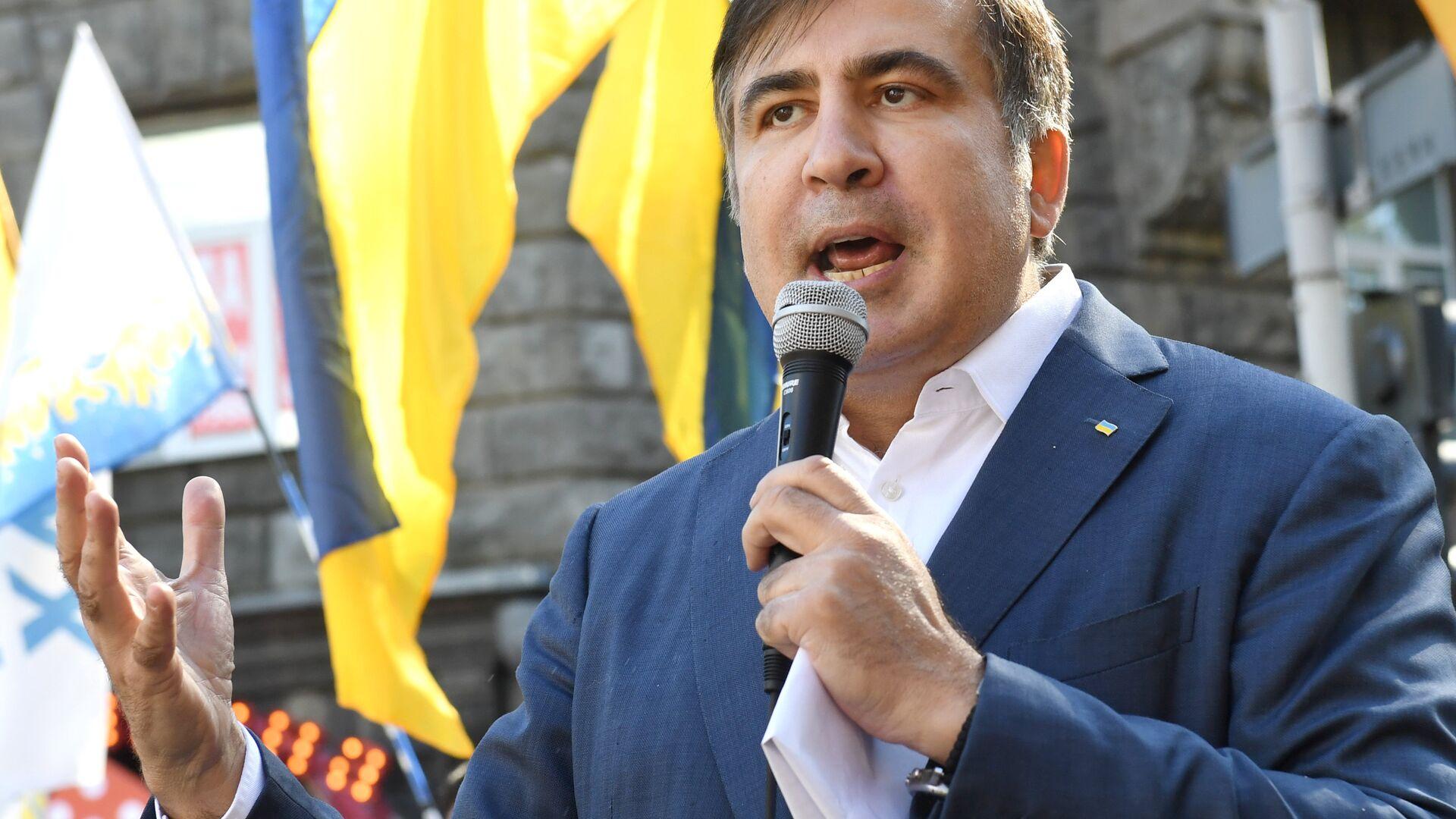 Михаил Саакашвили - Sputnik Грузия, 1920, 08.10.2021