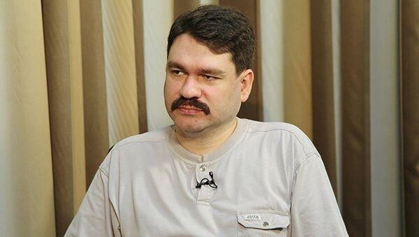 Политолог Павел Салин, фото из архива - Sputnik Грузия