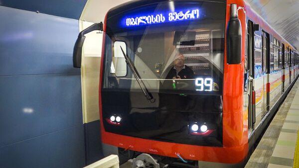 Новые вагоны тбилисского метро: как выглядят пассажирские составы - Sputnik Грузия
