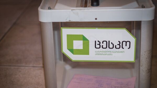 Выборы в местные органы власти - Sputnik Грузия