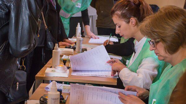 Выборы в местные органы власти в Тбилиси - Sputnik Грузия