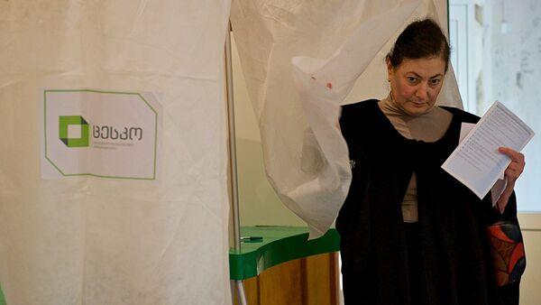 ადგილობრივი თვითმმართველობის ორგანოების არჩევნები საქართველოში - Sputnik საქართველო