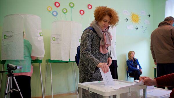 ადგილობრივი თვითმმართველობის ორგანოების არჩევნები თბილისში - Sputnik საქართველო