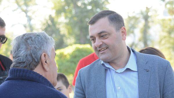 Кандидат в мэры Рустави Ираклий Табагуа - Sputnik Грузия