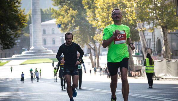 Тбилисский марафон - Sputnik Грузия