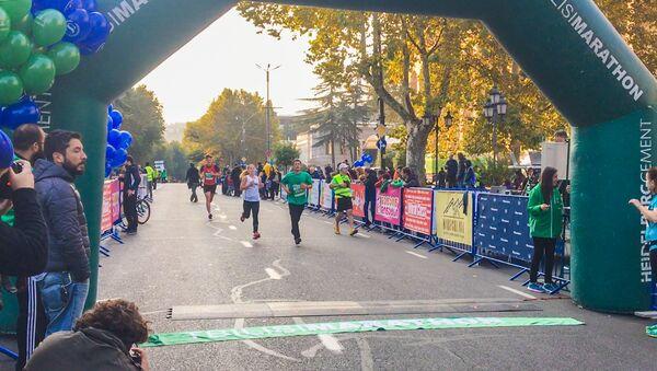Тбилисский марафон: репортер Sputnik приняла участие в акции - Sputnik Грузия