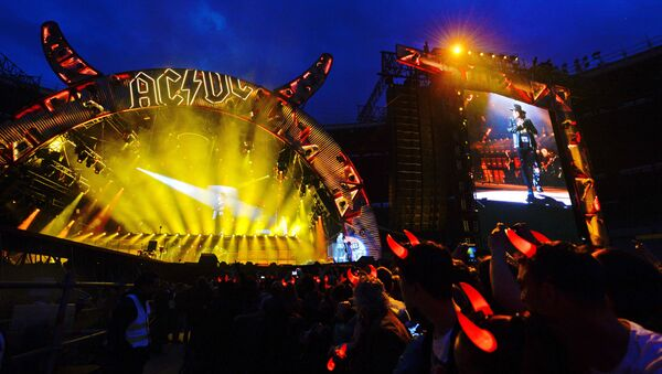 Концерт группы AC/DC - Sputnik Грузия