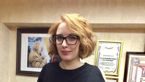 Журналистка радиостанции Эхо Москвы Татьяна Фельгенгауэр - Sputnik Грузия