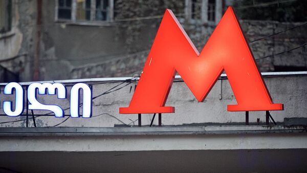 Тбилисское метро - станция Руставели - Sputnik Грузия