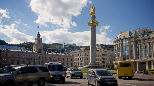 Площадь Свободы в центре Тбилиси - Sputnik Грузия