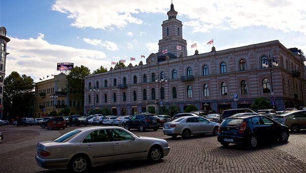 Здание городского совета Сакребуло - Sputnik Грузия