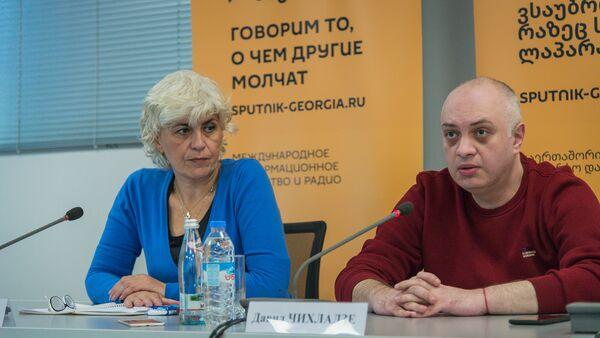 """""""უმუშევართა კავშირი დასაქმებისთვის"""" : ბრიფინგი - Sputnik საქართველო"""