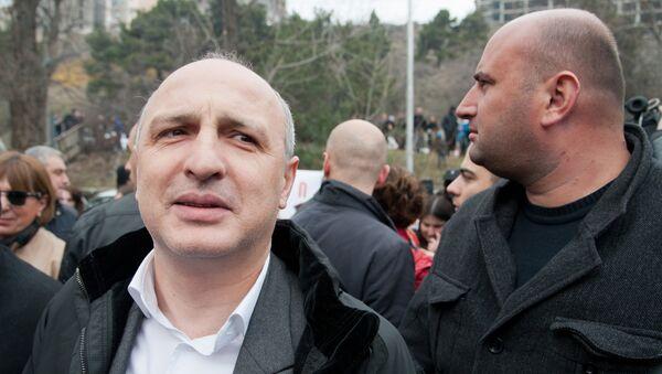 бывший глава МВД Грузии Вано Мерабишвили - Sputnik Грузия