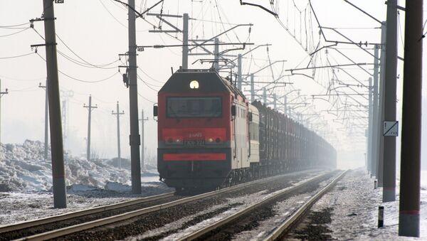 Грузовой поезд. РЖД - Sputnik Грузия