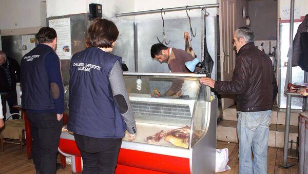 Национальное агентство продовольствия провело проверки на рынках Тбилиси - Sputnik Грузия