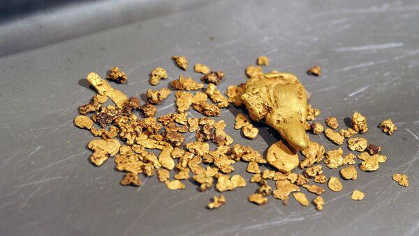 ოქროსმომპოვებელ საწარმოში მიპოვებული ოქრო - Sputnik საქართველო