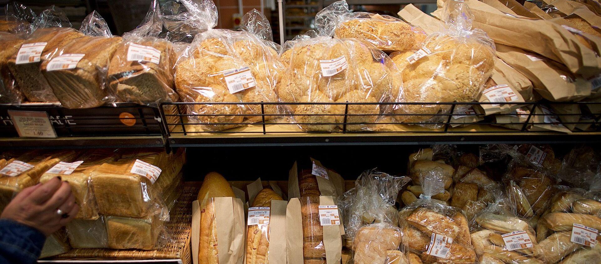 პური მაღაზიაში - Sputnik საქართველო, 1920, 02.12.2020