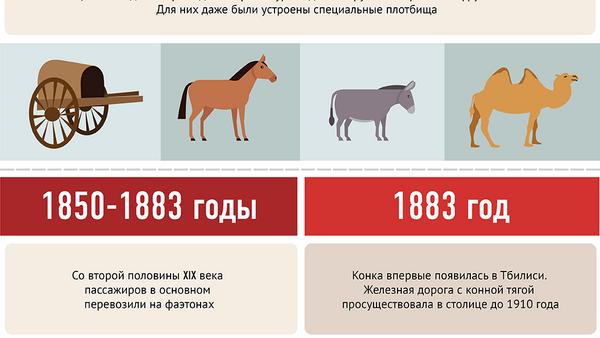 История развития общественного транспорта в Тбилиси - Sputnik Грузия